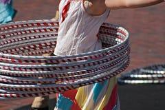 Cerchi di Hula Fotografia Stock Libera da Diritti