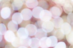 Cerchi di luce Fotografia Stock