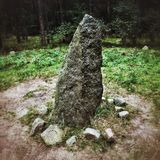 Cerchi di pietra Fotografia Stock Libera da Diritti