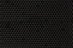 Cerchi di struttura su un fondo nero Immagini Stock Libere da Diritti