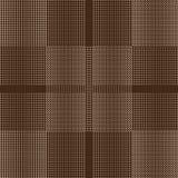 Cerchi e quadrati astratti senza cuciture Fotografia Stock Libera da Diritti