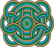 Cerchi geometrici Immagini Stock Libere da Diritti