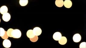 Cerchi gialli bianchi marroni astratti video d archivio