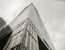 Cerchi, grandi grattacieli di Canton della città Fotografie Stock