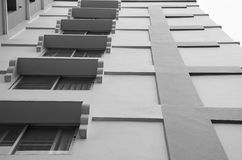 Cerchi l'alloggio dell'appartamento in Tailandia Punto di costruzione Fotografia Stock