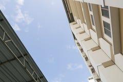 Cerchi l'appartamento della costruzione Fotografia Stock Libera da Diritti
