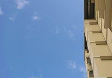 Cerchi l'appartamento della costruzione Fotografia Stock