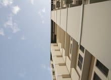 Cerchi l'appartamento della costruzione Immagini Stock Libere da Diritti
