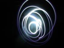 Cerchi leggeri della traccia Fotografie Stock