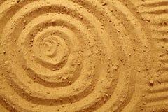Cerchi nella sabbia Immagini Stock