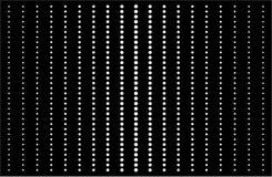 Cerchi orizzontali verticali O/Black bianco di arte op Fotografia Stock