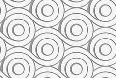 Cerchi perforati con la fusione delle code Fotografia Stock Libera da Diritti