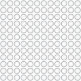 Cerchi senza cuciture di gray del briciolo del modello Fotografia Stock Libera da Diritti