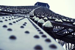 Cerchi! Torre Eiffel a Parigi Fotografie Stock