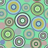 Cerchi variopinti del reticolo Fotografie Stock Libere da Diritti