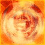 Cerchio afflitto del grunge Fotografia Stock