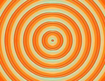 Cerchio arancio fresco e succoso Immagini Stock Libere da Diritti