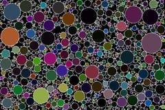Cerchio che imballa immagine di sfondo astratta Fotografie Stock Libere da Diritti