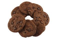 Cerchio dei biscotti Fotografia Stock Libera da Diritti