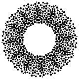 Cerchio dei puntini Fotografia Stock