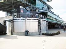 Cerchio dei vincitori di Indianapolis Motor Speedway Immagini Stock