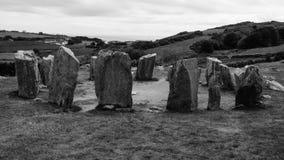 Cerchio del dolmen Immagini Stock Libere da Diritti