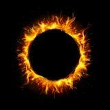 Cerchio del fuoco Immagini Stock
