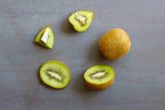 Cerchio del kiwi Fotografia Stock