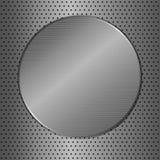 Cerchio del metallo Fotografie Stock Libere da Diritti