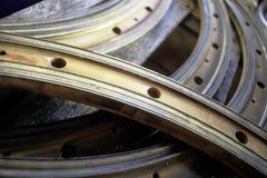 Cerchio del metallo Immagine Stock Libera da Diritti