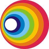 Cerchio del Rainbow Fotografie Stock Libere da Diritti