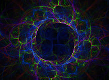 Cerchio dell'alta energia Fotografie Stock