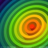 Cerchio dell'arcobaleno Immagini Stock