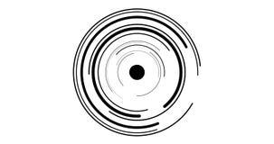 Cerchio dell'occhio stock footage