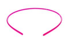 Cerchio della banda, della fascia o dei capelli dei capelli isolato su fondo bianco Immagine Stock