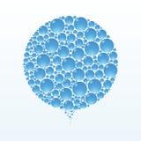 Cerchio della bolla Fotografie Stock Libere da Diritti