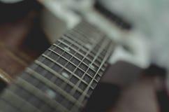 Cerchio 2 della chitarra Fotografie Stock Libere da Diritti