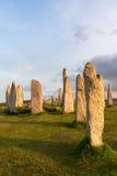 Cerchio della pietra di Hebrides Immagini Stock
