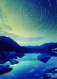 Cerchio della stella Immagini Stock Libere da Diritti