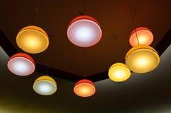 Cerchio delle luci Fotografia Stock Libera da Diritti