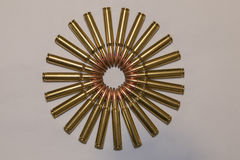 Cerchio delle munizioni grande Immagini Stock