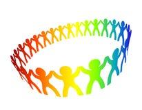 Cerchio di amicizia Fotografia Stock Libera da Diritti