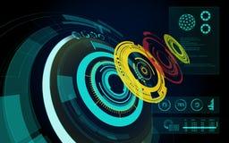 Cerchio di Bule Fotografia Stock