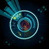 Cerchio di Bule Fotografie Stock