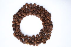 Cerchio di caffè Fotografia Stock Libera da Diritti