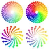 Cerchio di colore illustrazione di stock