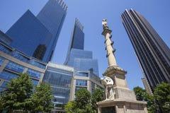 Cerchio di Columbus, New York City Fotografia Stock Libera da Diritti