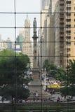 Cerchio di Columbus, NYC Fotografia Stock Libera da Diritti