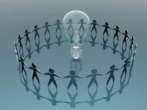 Cerchio di creatività Immagine Stock