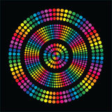 Cerchio di divertimento del Rainbow Immagini Stock